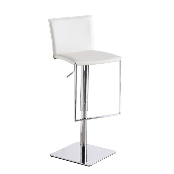 Ryan Adjustable Height Swivel Bar Stool by Orren Ellis