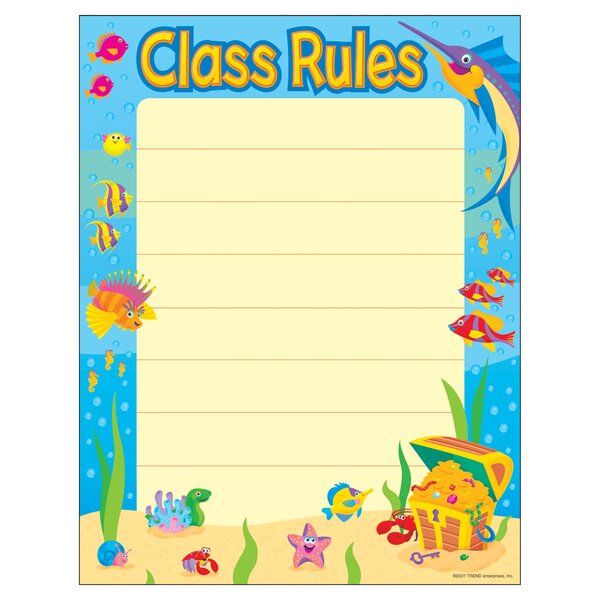 Class Rules Chart by Trend Enterprises