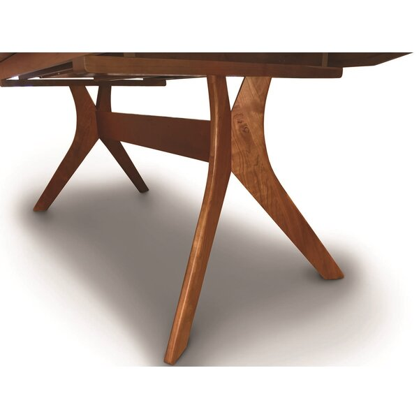 Audrey Extendable Solid Wood Dining Table by Copeland Furniture