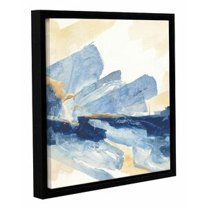 Gilded Indigo II Framed Painting Print on Wrapped Canvas by Mercer41