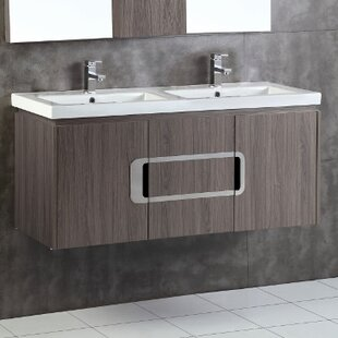 Bargain 48 Double Sink Bathroom Vanity Set By Bellaterra Home
