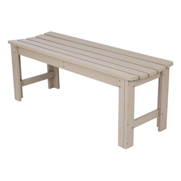 Backless Garden Bench by Shine Company Inc.