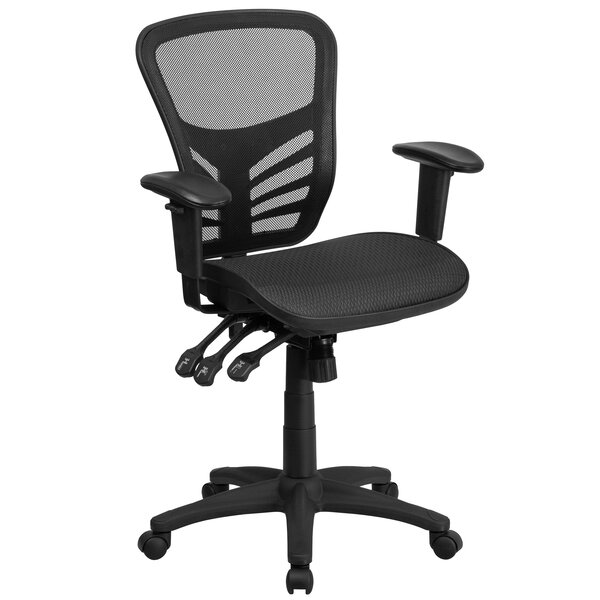 Wyona Mid-Back Mesh Desk Chair by Symple Stuff