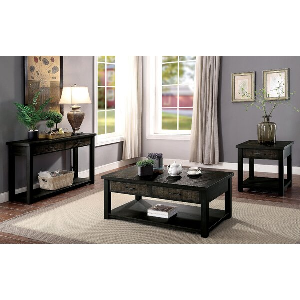 Theron 3 Piece Coffee Table Set by Foundry Select Foundry Select