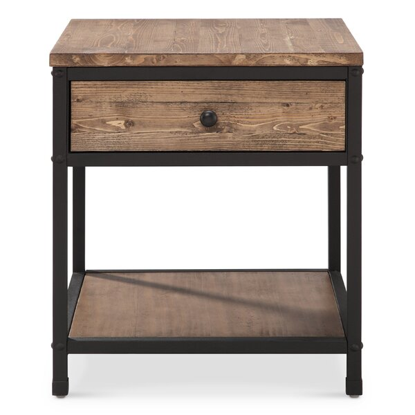 Clara Marie End Table by August Grove
