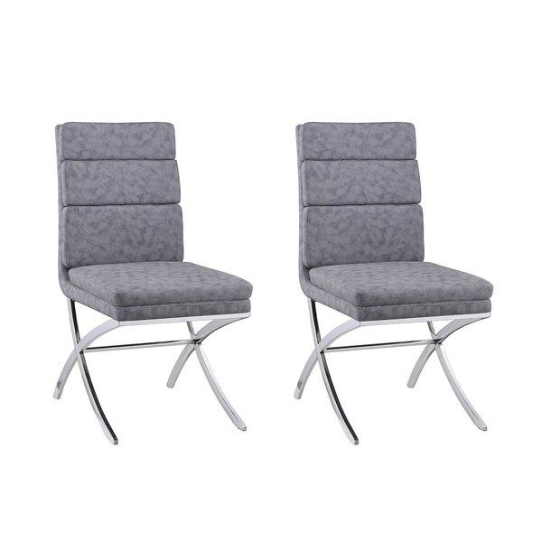 Emery Upholstered Dining Chair (Set of 2) by Orren Ellis Orren Ellis