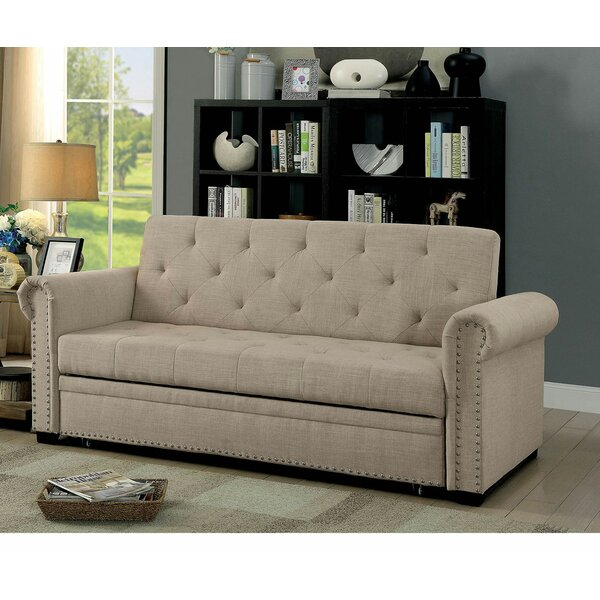 Jayde Full Tufted Back Convertible Sofa By Red Barrel Studio