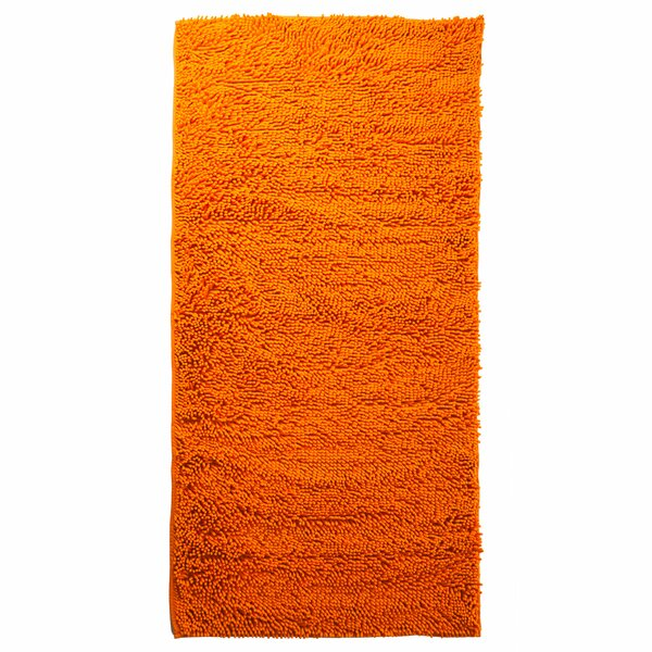 Scarlette High Pile Orange Solid Area Rug by Zipcode Design