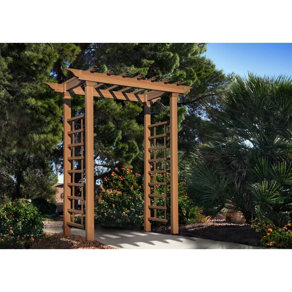 Leslie Vinyl Arbor by Darby Home Co