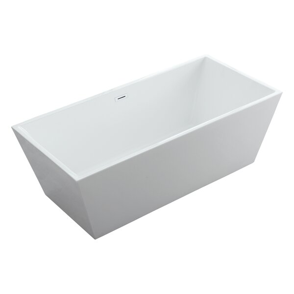 Athena Freestanding Soaking Bathtub by Eisen Home