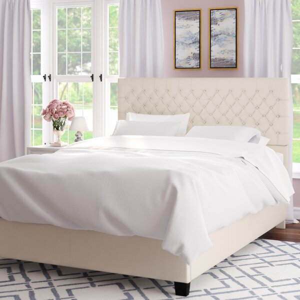 Hyannis Queen Upholstered Platform Bed by Willa Arlo Interiors