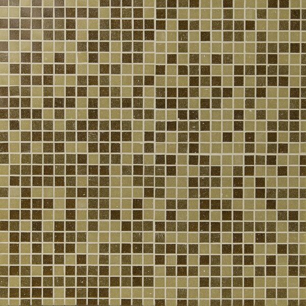 Canyon Vista Glass Mosaic Tile in Brown by MSI