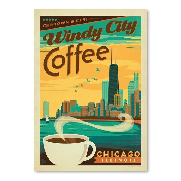 Coffee Chicago Coffee Vintage Advertisement by East Urban Home