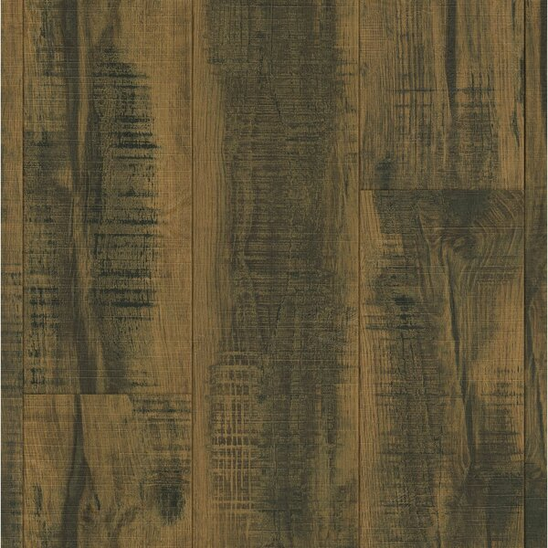 Architectural Remnant/Salvage 7.6 x 47.83 x 12mm Luxury Vinyl Laminate Flooring in Brown by Armstrong Flooring