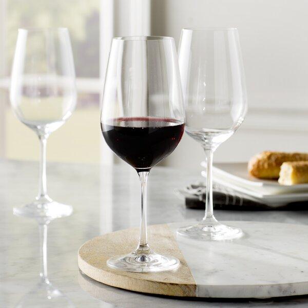 Steiger 18.5 oz. Red Wine Goblet, Drinkware for 12 (Set of 12) by Red Barrel Studio