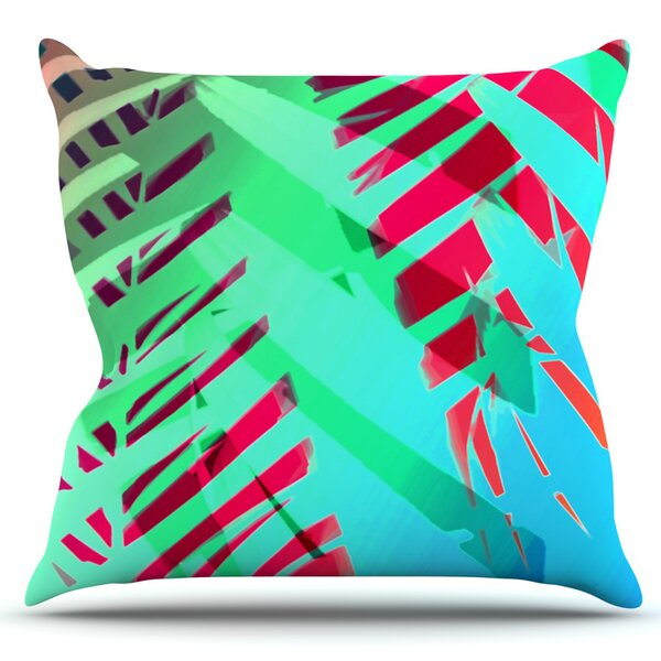 Tropical by Alison Coxon Outdoor Throw Pillow by East Urban Home