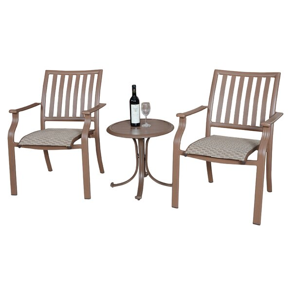 Island Breeze 3 Piece Conversation Set by Panama Jack Outdoor
