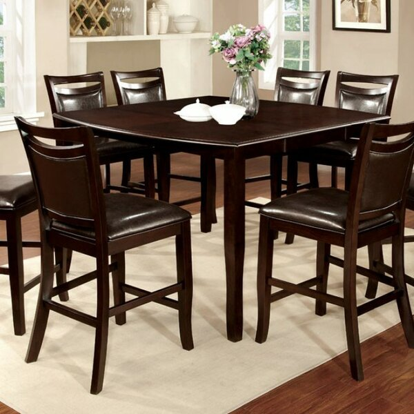 Quinney Transitional Counter Height Dining Table by Winston Porter