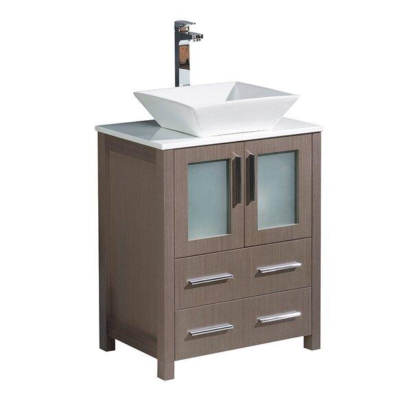 Torino 24 Single Bathroom Vanity Set by Fresca