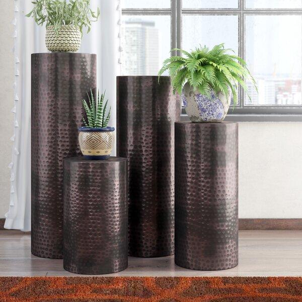 4 Piece Pedestal Plant Stand Set by Mistana