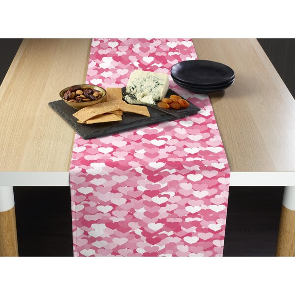 Etchison Heartbeats Table Runner by The Holiday Aisle