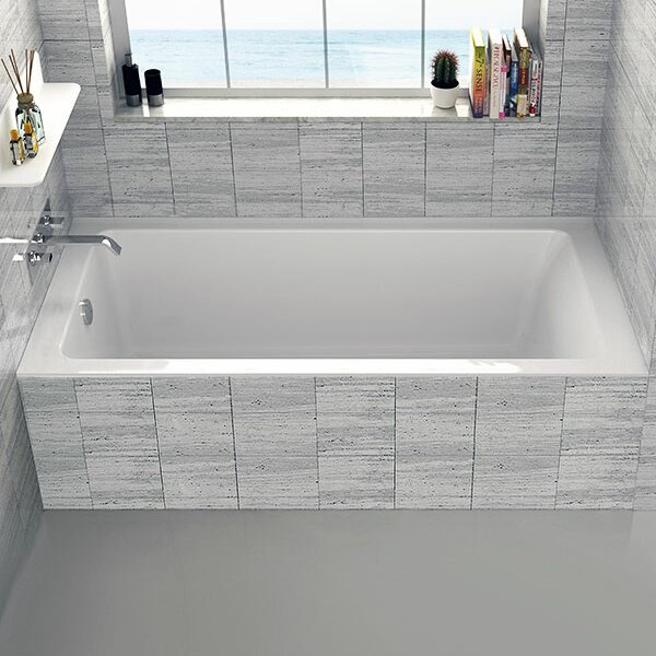 Alcove 30 x 60 Bathtub by Fine Fixtures