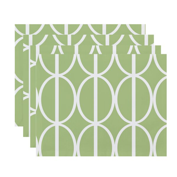 Felice Ovals Placemat (Set of 4) by Ivy Bronx