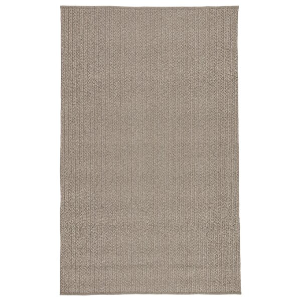 Genevrier Abstract Gray Indoor/Outdoor Area Rug