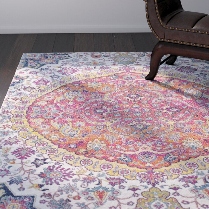 vive co sashi area rug rugs latitude wayfair pink uk reviews pdp