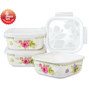 Ashley Square 3 Container Food Storage Set