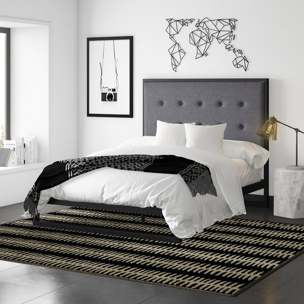 Massey Upholstered Platform Bed by Mercury Row