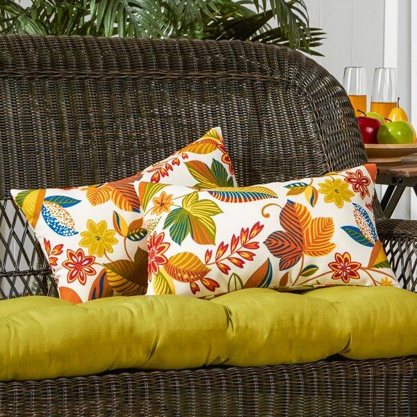 Rapoza Outdoor Lumbar Pillow (Set of 2) by August Grove