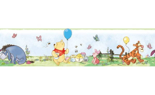 Disney Winnie the Pooh Room Border Wall Mural by Wallhogs