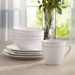 Harwood 16 Piece Dinnerware Set, Service for 4