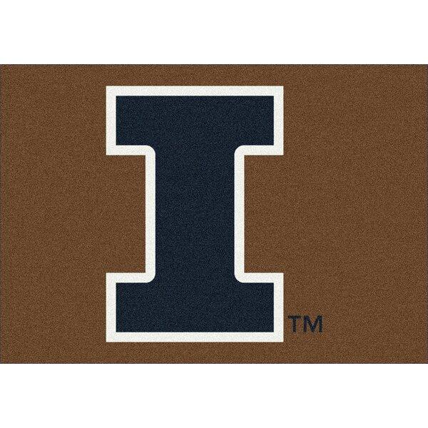Collegiate University of Illinois Fighting Illini Doormat by My Team by Milliken