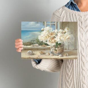 By The Sea Painting Print On Wrapped Canvas