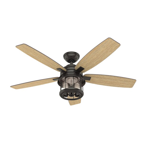 52 Coral Bay 5 Blade LED Ceiling Fan with Remote by Hunter Fan