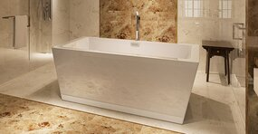 HelixBath Centaur 67 x 31.5 Soaking Bathtub by Kardiel