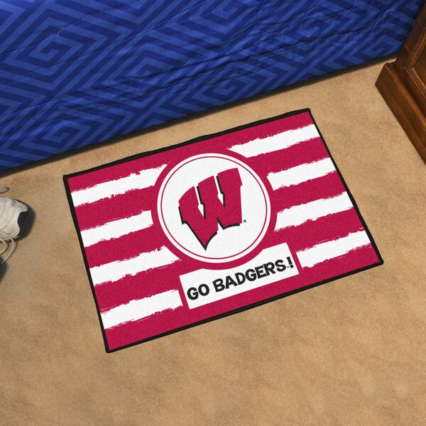 NCAA Wisconsin Southern Doormat by FANMATS