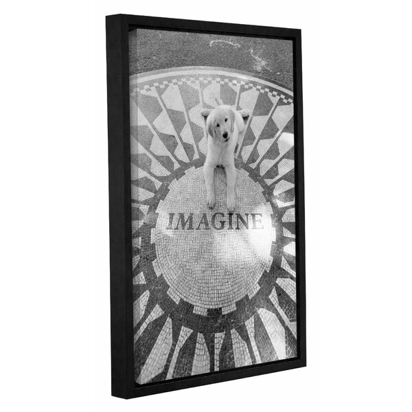 Imagine Framed Photographic Print on Wrapped Canvas by Red Barrel Studio