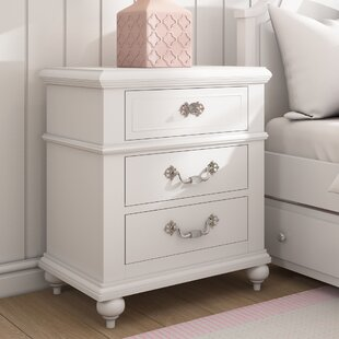 Lydia 3 Drawer Nightstand by Viv + Rae