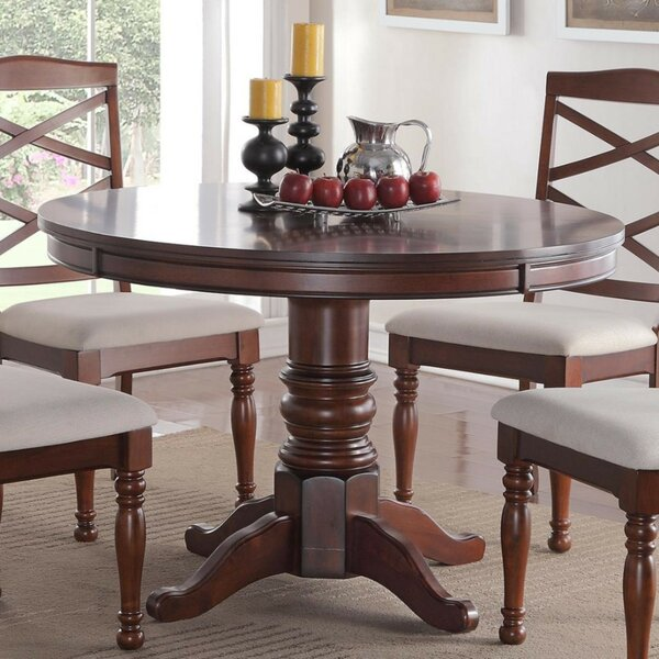 Rucks Wooden Dining Table by Charlton Home
