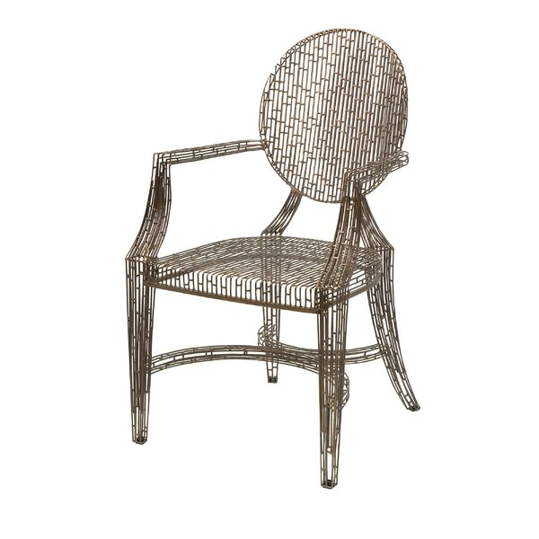 Wick, Somerset Fashionable Handcrafted Metal Armchair by Brayden Studio