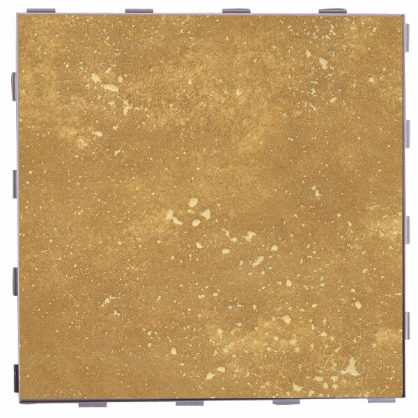 Classic ThinLine 12 x 12 Porcelain Field Tile in Latte by SnapStone