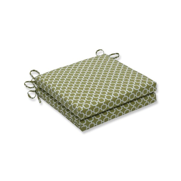 Indoor/Outdoor Dining Chair Cushion (Set of 2) by Ivy Bronx