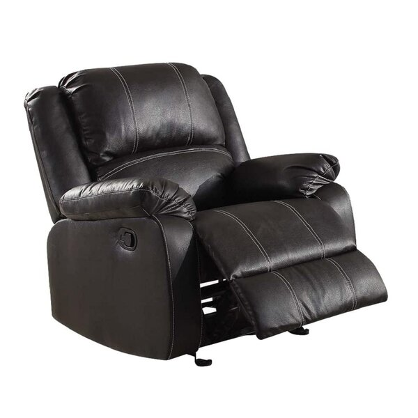 Bagnall Faux Leather Manual Rocker Recliner W003408597