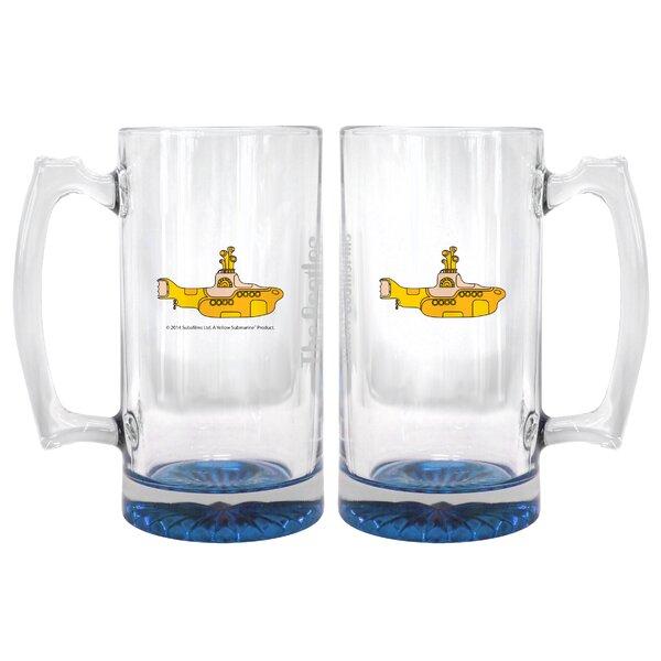 Beatles Yellow Submarine Root Beer Mug by Boelter Brands