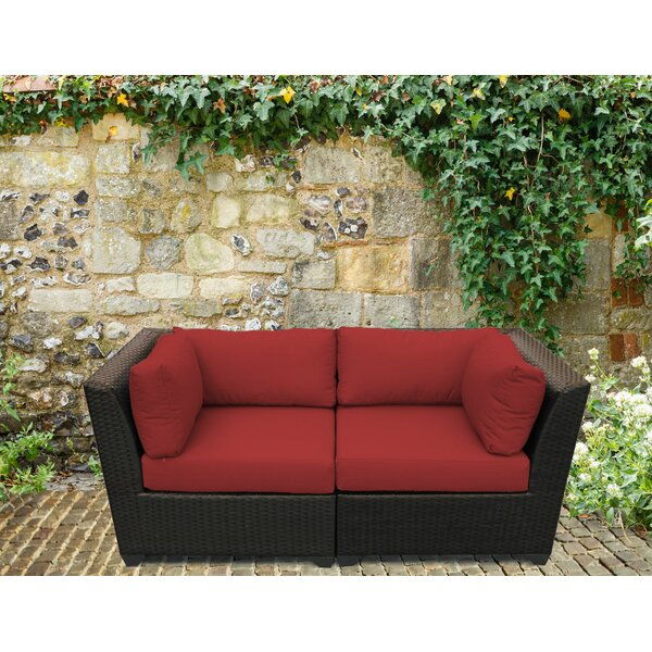 Tegan Loveseat with Cushions by Sol 72 Outdoor Sol 72 Outdoor