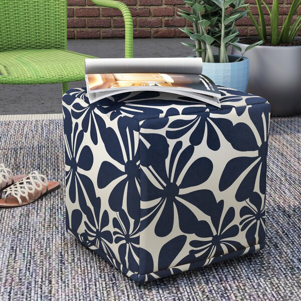Monterey Cube Ottoman by Wrought Studio