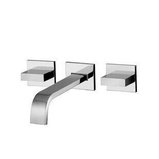 Lever Widespread Bathroom with Push Handle